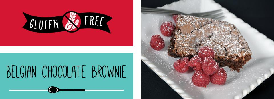 Tempting gluten-free brownies prepared by Mary O'Hanlon of Tasty Parlour, Co. Wexford.