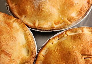 Tasty Parlour's gluten-free apple pie