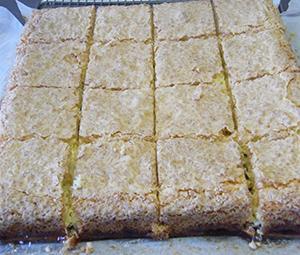 Coconut Tray Bake