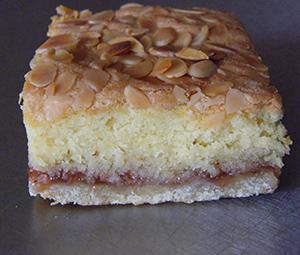 Almond Slice - gluten-free