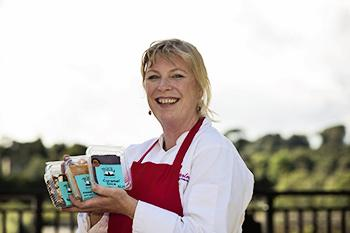 Mary O'Hanlon, food entrepreneur, Tasty Parlour, Co. Wexford, Ireland.